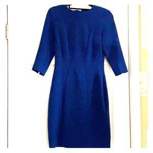 Blue 3/4 sleeve dress